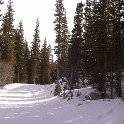 Snow Shoeing at Brainard Lake.