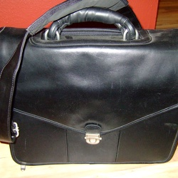 Targus CPLC1 Leather Laptop Bag