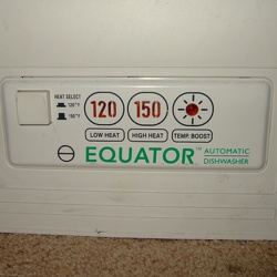 Equator PLS 602 Dishwasher