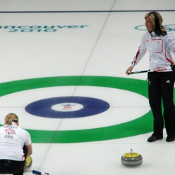 Curling at the Vancouver Olympic Center